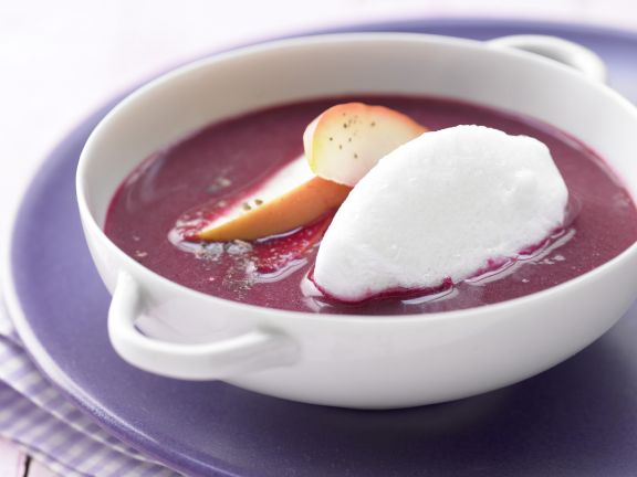 Apple and Elderberry Soup