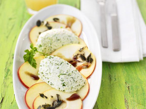Apple and Herb Carpaccio