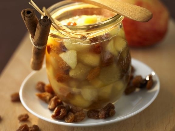 Apple and Raisin Jam