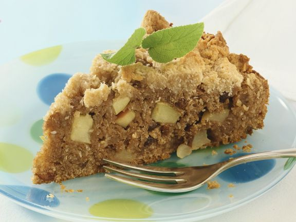 Apple Cake with Whole-Wheat Streusel Topping