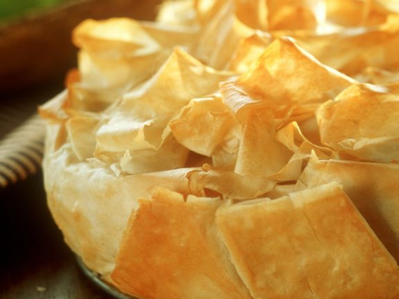 Apple Tart in Puff Pastry