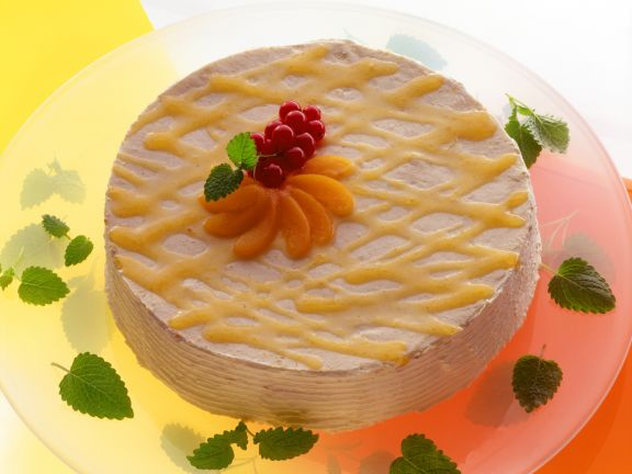 Apricot Cream Cake