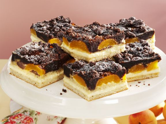 Apricot Crumble with Dark Chocolate
