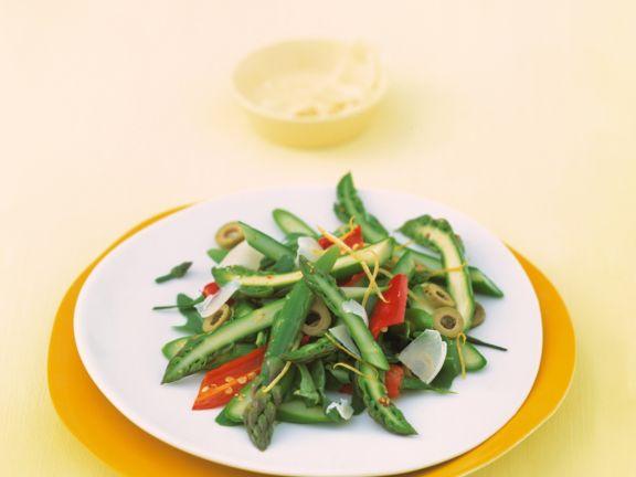 Arugula and Asparagus Salad