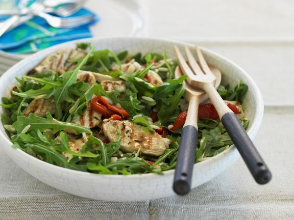 Arugula and Chicken Bowl