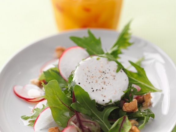Arugula and Goat Cheese Salad