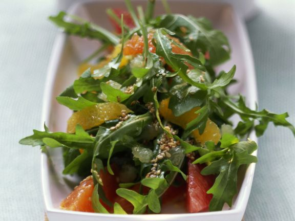 Arugula and Grapefruit Salad