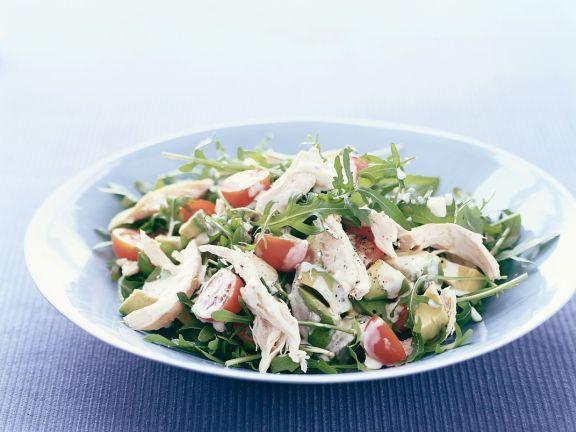 Arugula Salad with Chicken