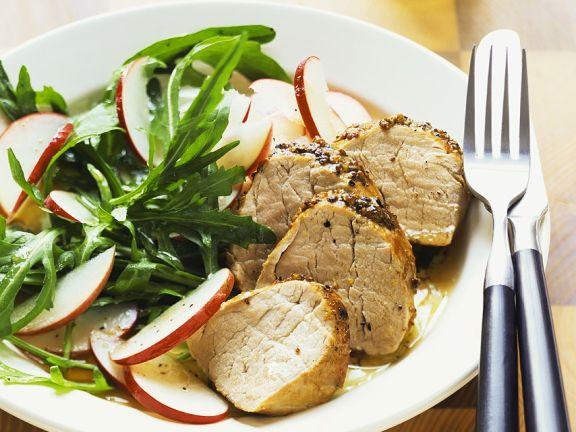 Arugula Salad with Pork Tenderloin