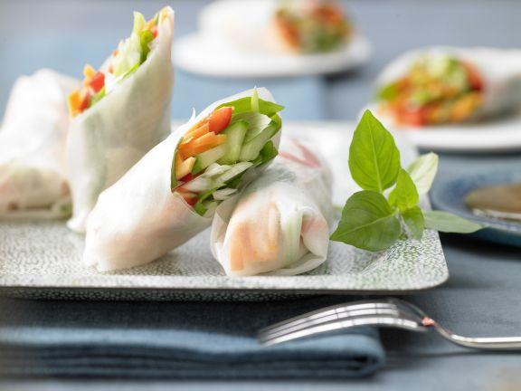 Asian Rice Paper Wraps