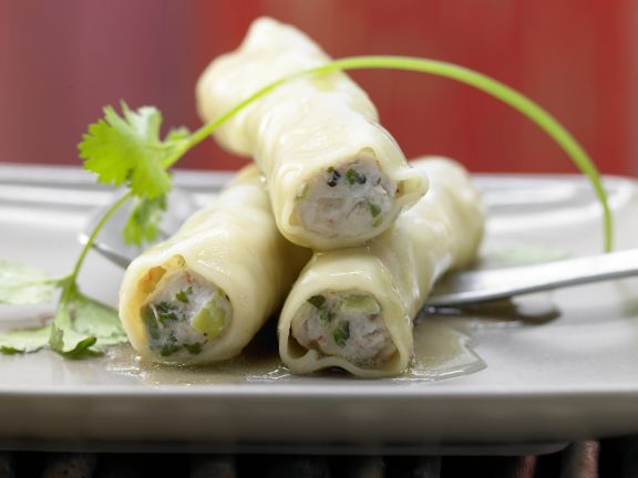 Asian Seafood Cannelloni