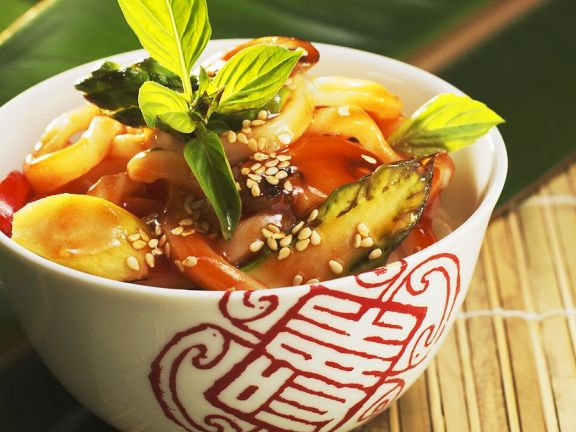 Asian Sesame and Vegetable Broth