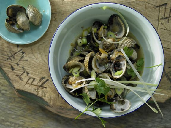 Asian Style Clams