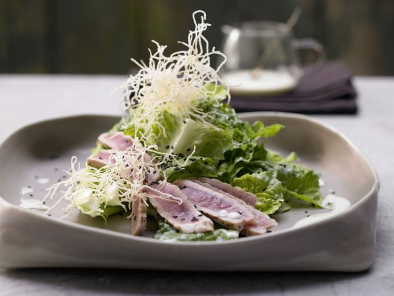 Asian-Style Romaine Salad