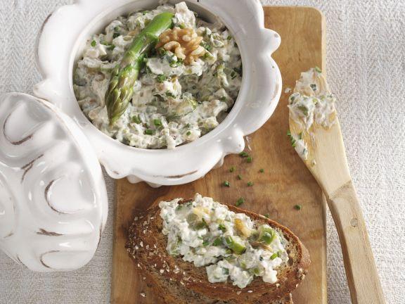 Asparagus and Walnut Cream