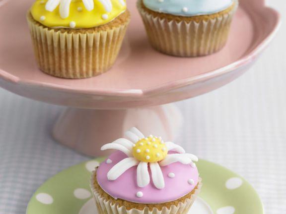 Assorted Flower Fairy Cakes