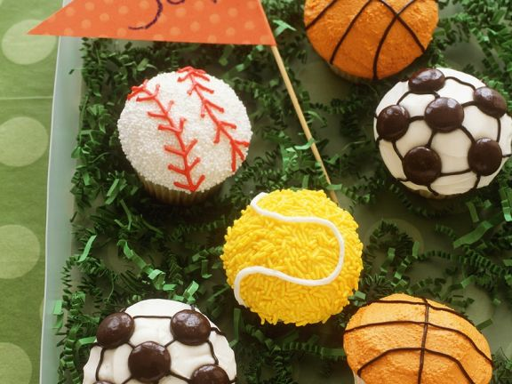 Assorted Sports Cakes