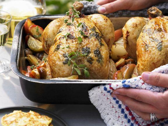 Autumnal Roast Chicken