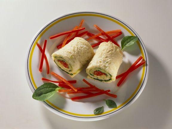 Avocado Bread Rolls