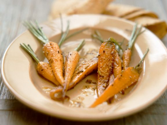Baby Carrots with Mustard