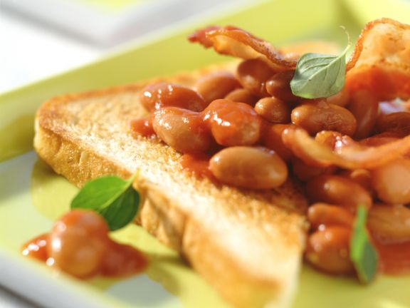 Bacon and Beans on Toast