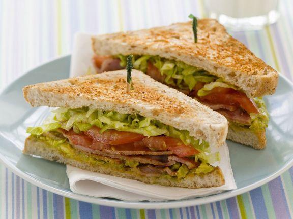 Bacon, Lettuce and Tomato Sandwich