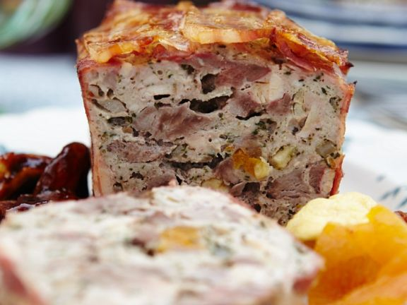 Bacon-wrapped Duck Terrine