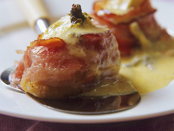 Baked Bacon Figs