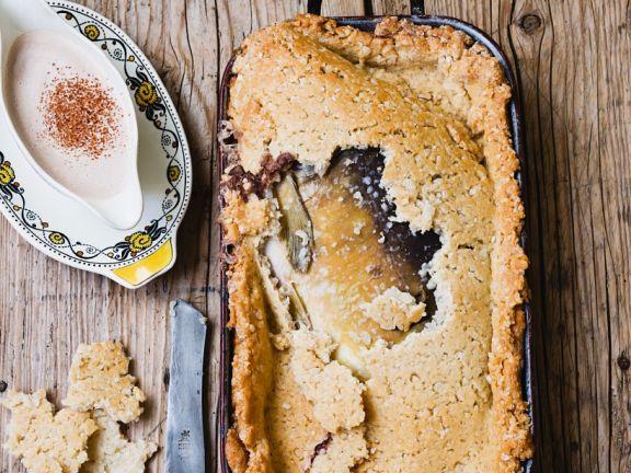 Baked Carp in Salt Crust