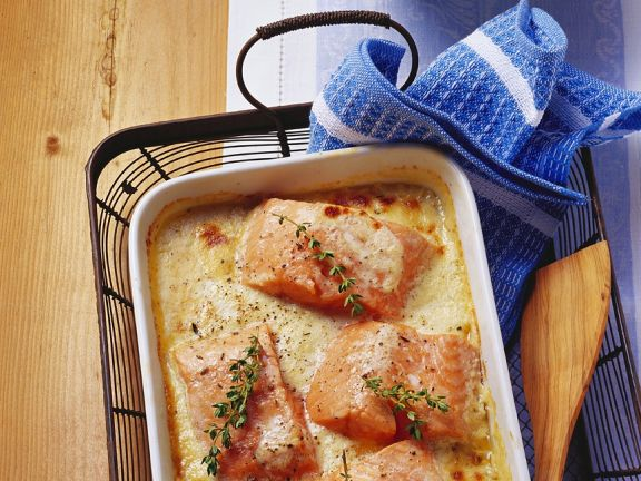 Baked Creamy Fish Fillets