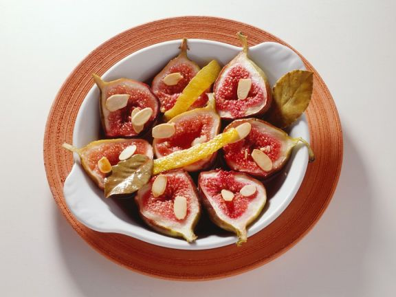 Baked Figs with Lemon