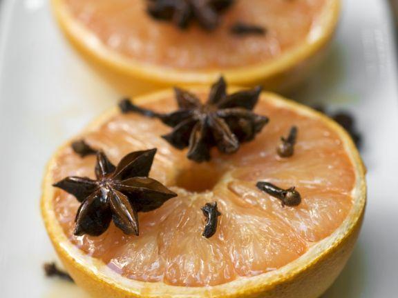 Baked Honey Grapefruit