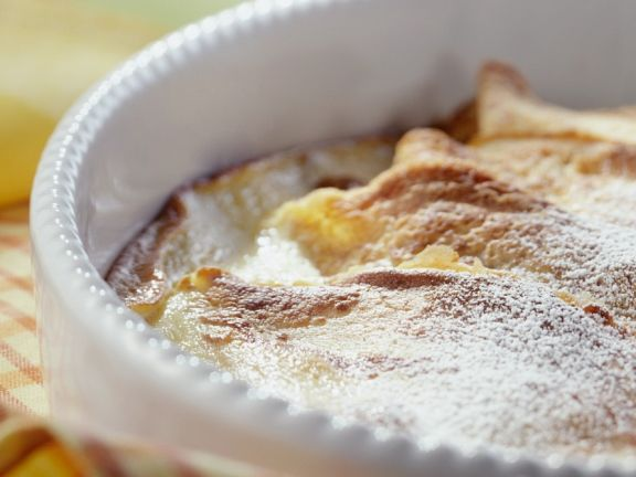 Baked Pancakes with Cream