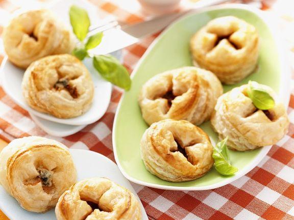 Baked Puff Pastry Ravioli