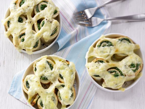Baked Spinach Rolls