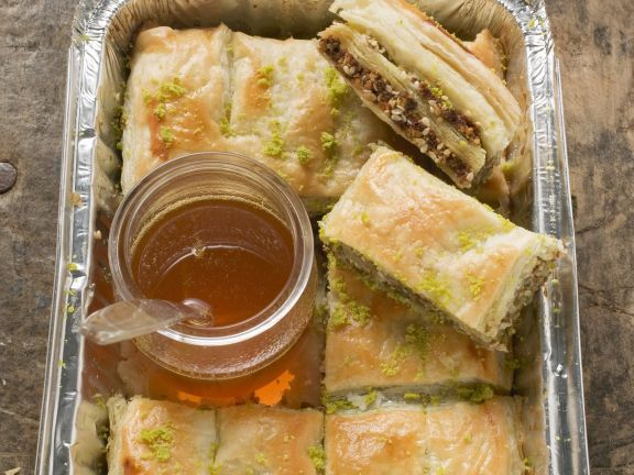 Baklava with Chocolate