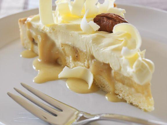 Banana Caramel Cream Tart