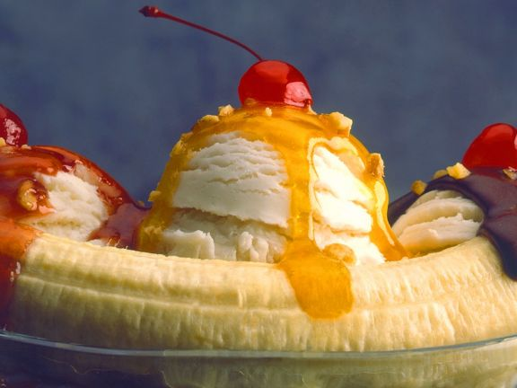 Banana Ice Cream Dessert