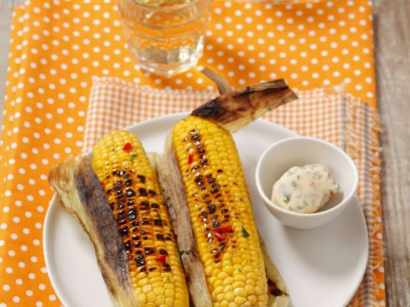 Barbecued Sweetcorn