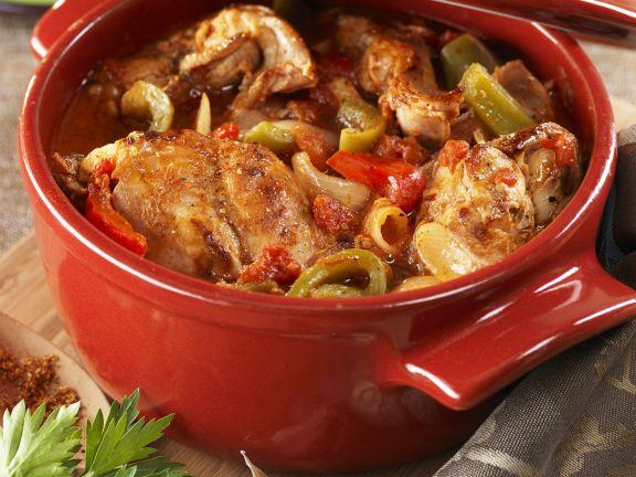 Basque Rabbit Stew