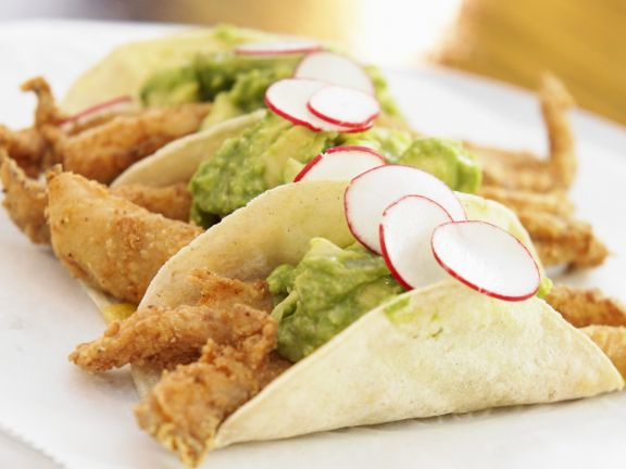 Battered Fish Wraps