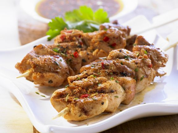 BBQ Chicken Brochettes