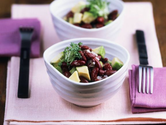 Bean and Avocado Bowl