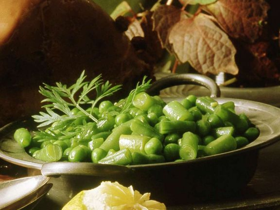 Beans and Peas with Chervil