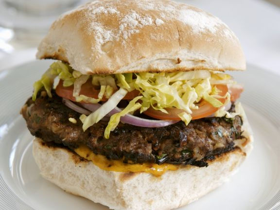 Beef and Pork Burgers