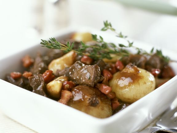 Beef and Wine Casserole