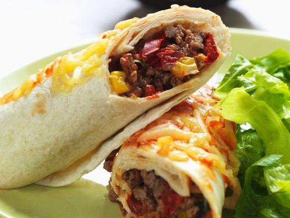 Beef Burrito Wraps