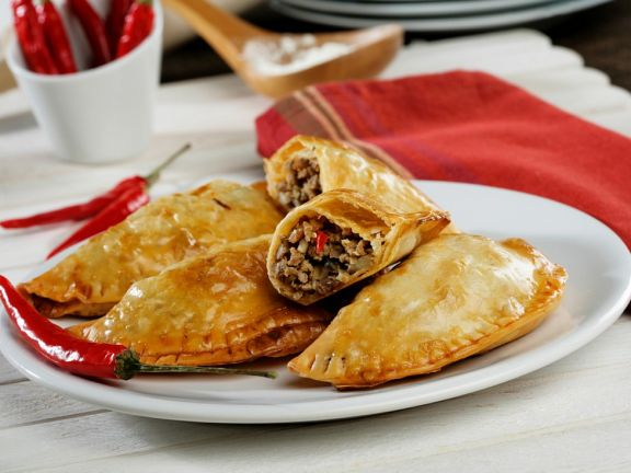 Beef-filled Pastry Pies
