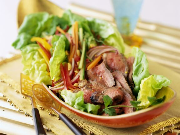 Beef Salad Thai Style
