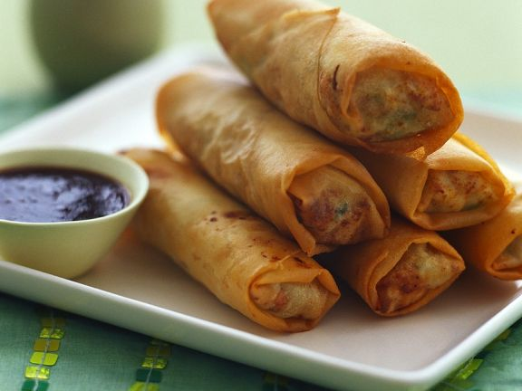 Beef Spring Rolls Recipe Eat Smarter Usa